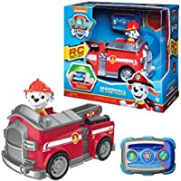 PAW PATROL- Marshall RC Fire Truck Vehículo R/C Marcus, Multicolor (Spin Master 6054195)