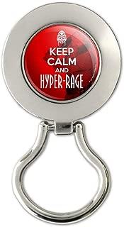 Farscape Keep Calm and Hyper-Rage Ka D'Argo Luxan Magnetic Metal Eyeglass ID Badge Holder