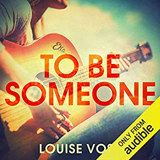 To Be Someone audiobook cover art
