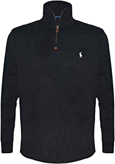 Polo Ralph Lauren Men's Half-Zip Pima Cotton Sweater