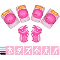XJD Kids Protective Gear Set for 3-8 Years (Pink)