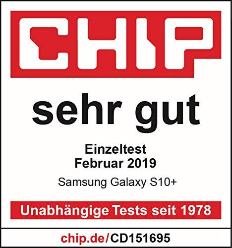 Samsung Galaxy S10+ Smartphone (16.3cm (6.4 Zoll) 128 GB interner Speicher, 8 GB RAM, prism Schwarz) - [Standard] Deutsche Version
