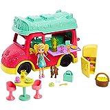 Food Truck 2 Em1 Mattel Polly Pocket Loira