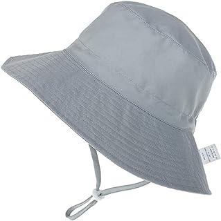 Baby Sun Hat Boys Girls Bucket Hat Sun UPF 50+ Protection Hats Wide Brim Kid Beach Summer Cap