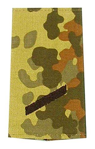 A.Blöchl Bundeswehr Heer Rangabzeichen Flecktarn - Schwarz (Gefreiter)