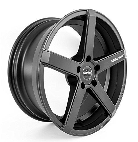 SEITRONIC® RP6 Alufelge   Concave Design   Matt Black 19 Zoll 9,5J 5x112-ET35