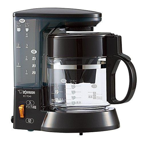 象印 コーヒーメーカー 珈琲通 4杯用 EC-TC40-TA