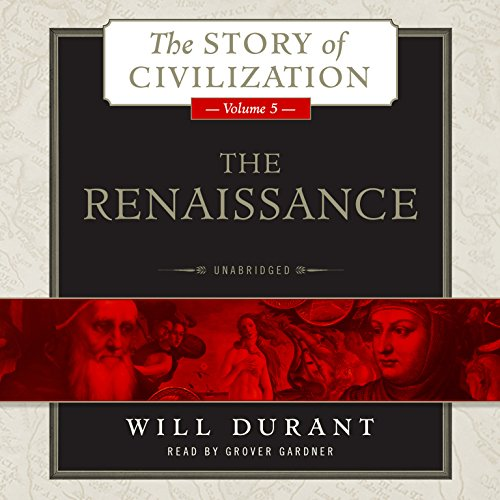 The Renaissance audiobook cover art