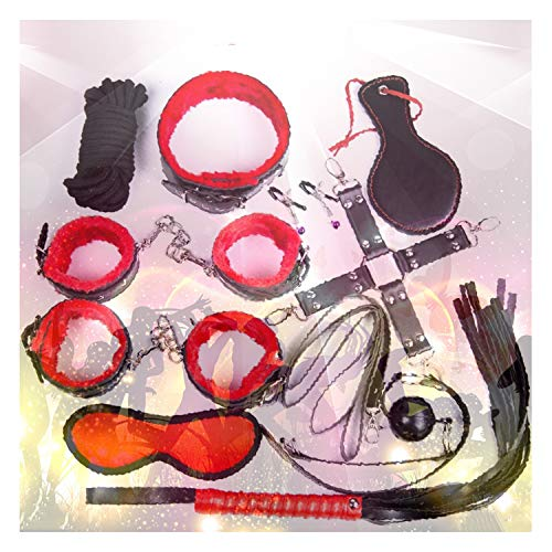 10 pcs Adjustable Straps Kit for Indoor Adventure Game