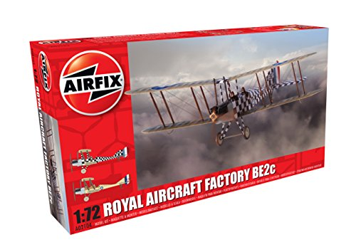 Airfix A02104 Royal Aircraft Factory BE2c Scout Model