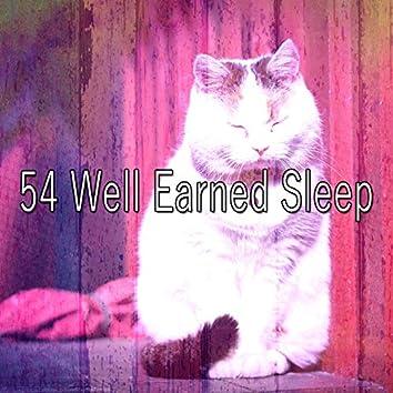 54 Well Earned Sleep