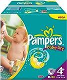 Pampers Baby Dry Gr.4+ Maxi Plus 9-20kg Megapack 1x108 Stk.