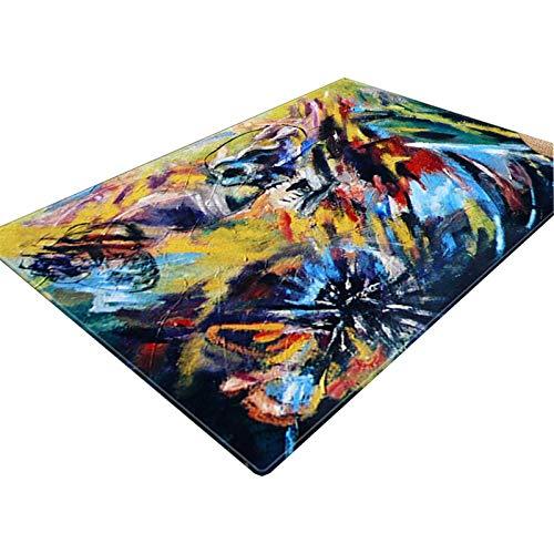 3D Vision Teppich Teppich Wohnzimmer Nordic Abstrakt Sofa Couchtisch Kissen Moderne Minimalist Große Teppichboden Schlafzimmer Home 3D Stereo Mat Rutschfester Teppich