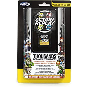 Datel Action Replay Cheat System  3DS/DSi XL/DSi/DS Lite