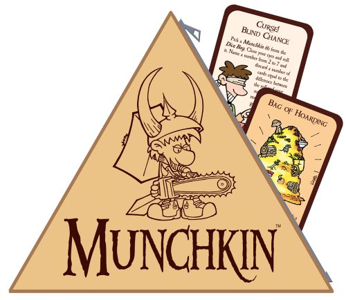 Steve Jackson Games 5528 Munchkin Borsa Porta Dadi con 2 Carte