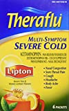 Theraflu Multi Symptom Severe Cold w/Lipton-Honey Lemon, 6 ct