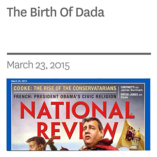 The Birth Of Dada audiobook cover art