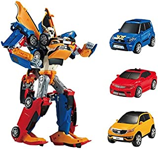 Tobot Youngtoys Tritan 3 Car Integration Robot Transforming Robot Car to Robot Animation Character