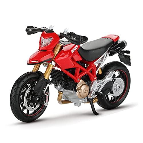 El Maquetas Coche Motocross Fantastico 1:18 para Ducati Hermotard 1100s Todoterreno Motocicleta Aleación Modelo Simulación Decoración Colección Niño Regalo Coche Juguete Regalos Juegos Mas Vendidos