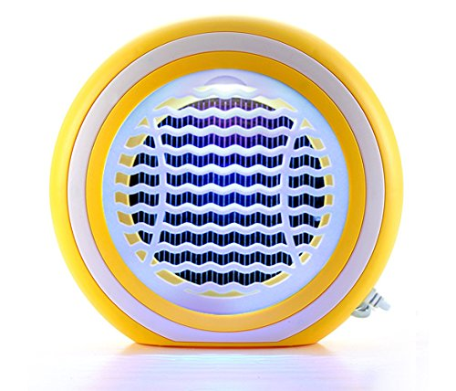 X-CHENG Bug Zapper - The Latest Shock photocatalyst Mosquito Lamps Plus inhaled - No Radiation - The Eradication of Mosquitoes - Bugs and Other pests (Yellow)