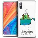 CASEINK Coque pour Xiaomi Mi Mix 2S (5.99) Housse Etui [Licence Officielle Collector Les Shadoks®...