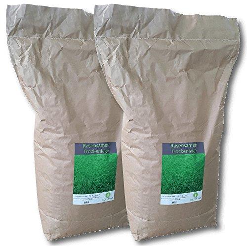 Rasensamen Trockenlage 20 kg Grassamen Trockenrasen Sportrasen Spielrasen