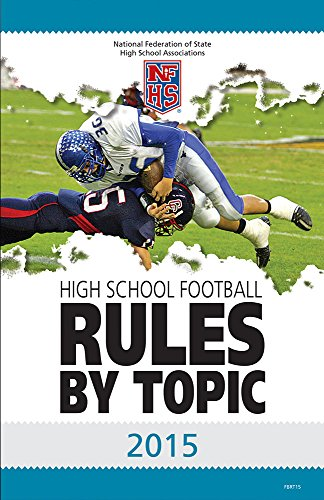 2015 NFHS High School Football: Rules By Topic