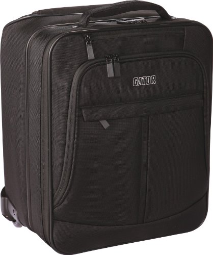 Gator Cases Checkpoint Friendly Rolling Laptop and Projector Case with Pull handle and Wheels; (GAV-LTOFFICE-W)