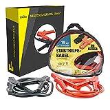 PRIOPA Starthilfekabel Überbrückungskabel Starterkabel Kabel Starthilfe 12V 24 Volt 18 mm² 3 m 220 Ampere
