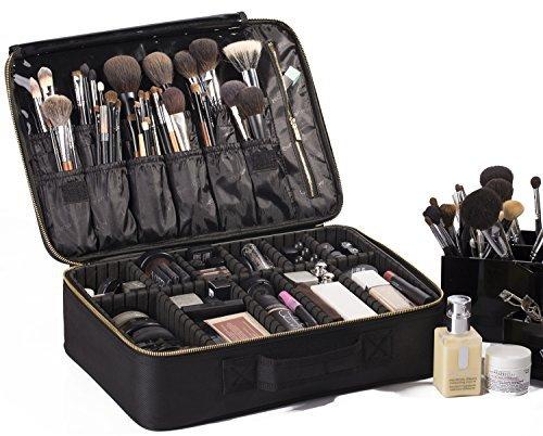 ROWNYEON Portable EVA Makeup Case-Professional 16.14/ Makeup Brush Sets /...