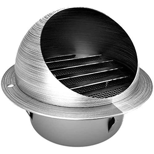 LTLCBB Kaminaufsatz Säurebeständigen Edelstahl Runden Ventilator Schornsteinaufsatz Lüftungsaufsatz Ofen Wasserdicht,160mm