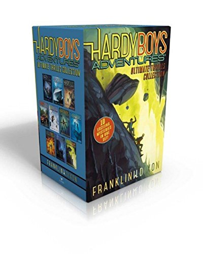 Compare Textbook Prices for Hardy Boys Adventures Ultimate Thrills Collection: Secret of the Red Arrow; Mystery of the Phantom Heist; The Vanishing Game; Into Thin Air; Peril at ... of the Ancient Emerald; Tunnel of Secrets Boxed Set Edition ISBN 9781481469265 by Dixon, Franklin W.
