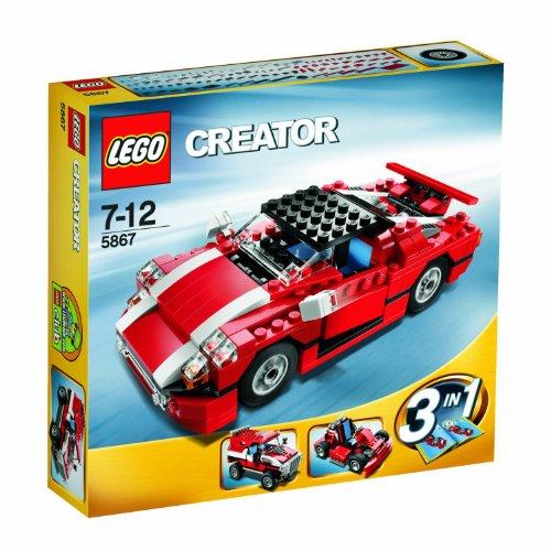 LEGO Creator 5867 - Roter Sportwagen