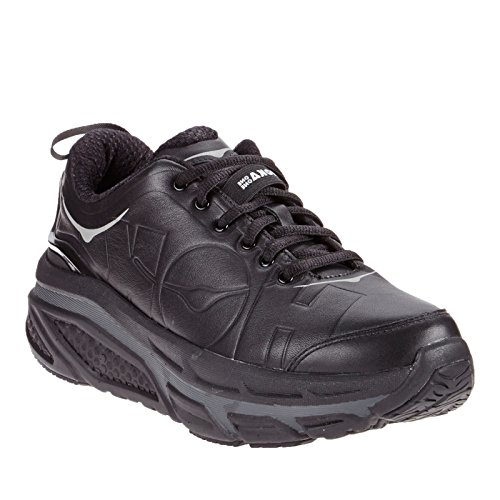 HOKA ONE ONE 1011373-001 Women's Valor LTR Casual Shoes - Black - 9.5M