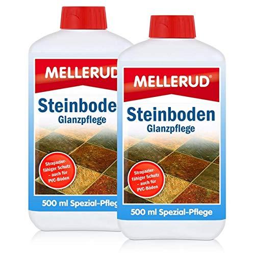 2x Mellerud Steinboden Glanzpflege 500 ml - schutz und pflege