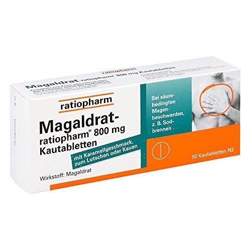 MAGALDRAT ratiopharm 800 mg Tabletten 50 St