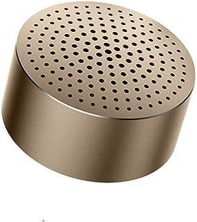 MINGTAI Speakers, Wireless Bluetooth Speaker, Multimedia Audio Speaker - Gray (Color : Gold)