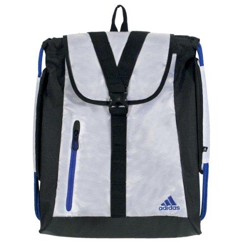 adidas Ultimate Core Sackpack Rucksack, Weiß/Vivid Blue, One Size