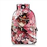 Mochila Toilet Bound Hanako Kun, Bolsa de Estudiante Resistente al Desgaste d...
