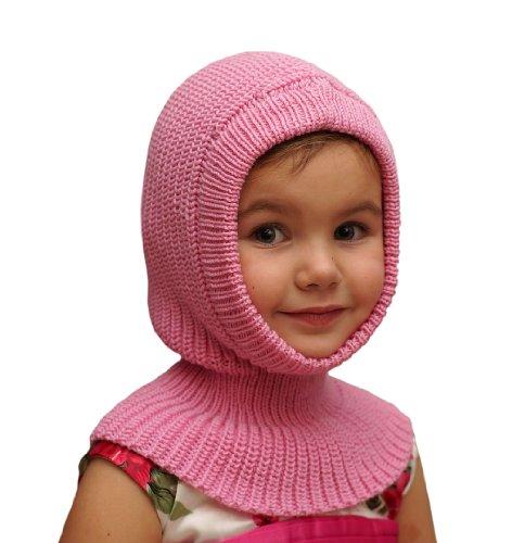 100% Merino Wool Balaclava Baby Newborn Girl boy Unisex Knit Knitted...