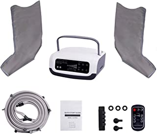 Sequential Compression Device - Leg Pump Machine for Lymphedema, Circulation & Swelling - Intermittent Pneumatic SCD Air Therapy Recovery with Full Massage Boots (Size : M)
