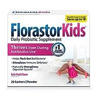 Florastor Daily Probiotic Supplements (Florastor Kids, Pack - 1)