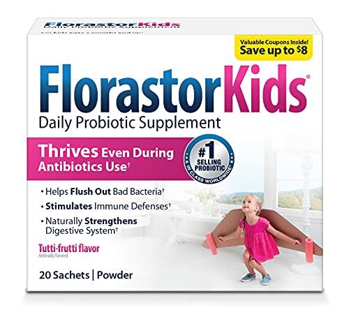 FlorastorKids Daily Supplements
