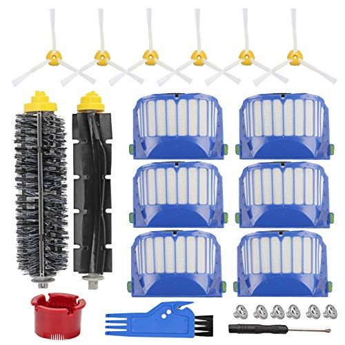 RONGJU Replacement Parts Accessories Kit Compatible with iRobot Roomba 600 Series 692 610 614 618 620 650 651 660 680 690 695, 500 Series 536 551 552 564 585 589 595 (Not Fit for 645 655 675)