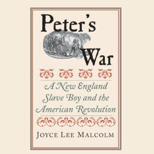 Peter's War audiobook cover art