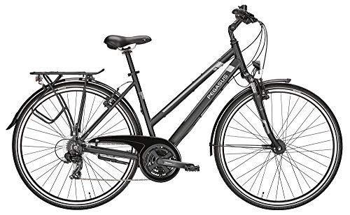 ZEG Pegasus Piazza 21 Damenfahrrad 21 Gang Trekkingrad 2020, Farbe:schwarz, Rahmenhöhe:50 cm