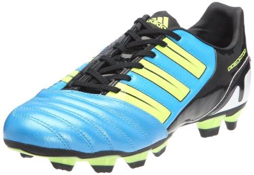 adidas Predator Absolado TRX FG, Botas de fútbol para Hombre, Bleu métallique/Electricité/Noir1, 44 2/3 EU