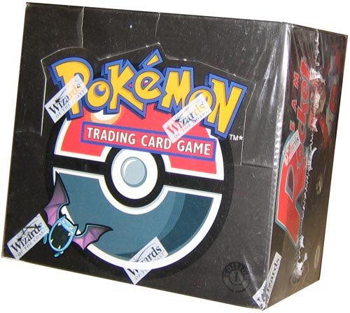 Pokemon Trading Card Game Team Rocket Booster Box [Office Product]
