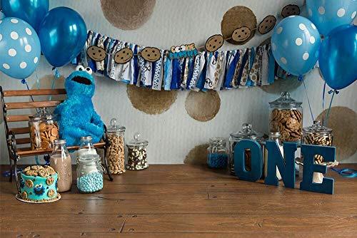 Fondo de Ducha de bebé recién Nacido Fondo de decoración de Fiesta de cumpleaños Fondo de fotografía de niños Estudio fotográfico A19 10x7ft / 3x2.2m