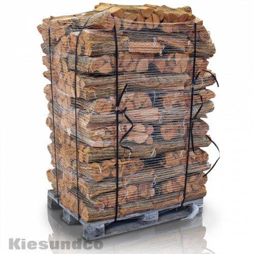 Hamann Mercatus GmbH Kaminholz in 12,5 dm³ Netz volle Palette 72 Netze - schönes Flammenbild & hoher Heizwert